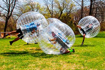 Bubble Ball naturaleza amigos partido