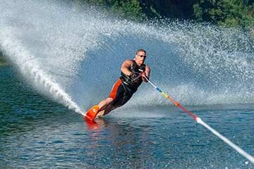 Esquí acuático deporte ski Euskadi País vasco